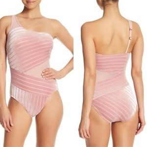 Kenneth Cole New York Mio One Shoulder Bodysuit